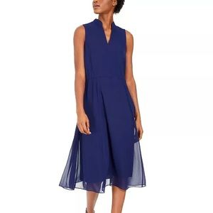Anne Klein Drawstring Midi Dress - Size XXS (NWT)